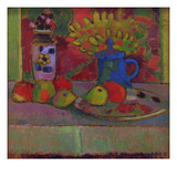 Still Life with Flowers, c.1910 Giclee Print by Alexej Von Jawlensky