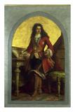 William III of Orange Giclee Print by Friedrich Pecht