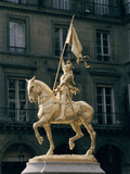 Joan of Arc, Monument in Paris Photographic Print by Emmanuel Fremiet