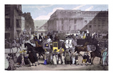 Street Scene in London, c.1830 Giclee Print by Eugene Lami