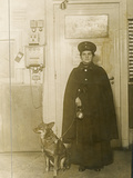 Wartime Economy, Woman Night Guard, During World War I Photographic Print