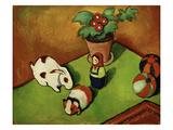 Walterchens Spielsachen (Walterchen's Toys), 1912 Prints by August Macke