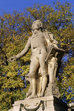 Mozart Monument, Burggarten in Vienna Photographic Print