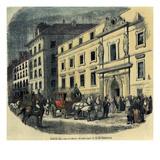 Conservatory, Paris, C 1850 Giclee Print