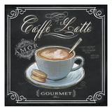 Coffee House Caffe Latte Posters av Chad Barrett
