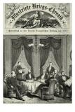 Frankfurt Peace Treaty, 1871 Giclee Print by F. Wolf