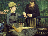 Dans la Serre (In the Winter Garden), 1879 Giclee Print by Édouard Manet