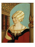 Dorothea Meyer, wife of Jakob Meyer zum Hasen, Mayor of Basel, Switzerland Giclee Print by Hans Holbein the Younger