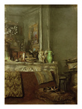 La Cheminée Chez Vuillard, Place Vintimille (The Vuillards' Fireplace, Place Vintimille), c.1930 Poster by Edouard Vuillard