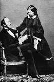 Victoria and Albert, C.1860 Photographic Print