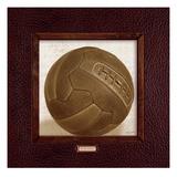 Vintage Soccer Reproduction procédé giclée par Sam Appleman