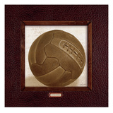 Vintage Soccer Giclee Print by Sam Appleman
