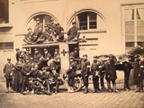 Medical Corps of the Red Cross 1870-71 Photographic Print