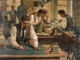 The Gentleman's Tailor, School Poster Giclee Print