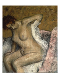 After the Bath, C.1895 Prints by Edgar Degas