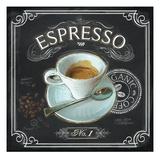 Coffee House Espresso Poster von Chad Barrett