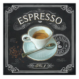 Coffee House Espresso Giclee Print by Chad Barrett