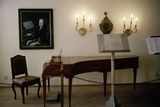 Mozart's Birthplace Stretched Canvas Print