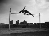 High Jump Championship in Colombes, 1952 Photographic Print