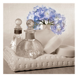 Hydrangea and Towel Giclee Print by Julie Greenwood