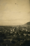 German Aircraft over Prilep During During World War I Stretched Canvas Print