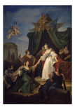 Catherine II Accenssion to the Throne, 1762 Premium Giclee Print by Francesco Fontebasso