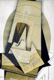 Composition du Violon (Composition with Violine), 1915 Giclee Print by Juan Gris