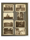 """Page from the Private Photo Album of German Soldier, A. Ritzhaupt, """"Weltkrieg 1914-18"""" Prints"""