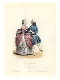 Paris Fashions Giclee Print by Hippolyte Louis Pauquet