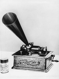 Phonograph by Edison Photographic Print