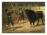 Bullfight, C.1900 Giclee Print