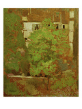 Chestnut Trees in Rue Truffaut (in the 17th Arrondissement in Paris), c.1900 Art by Edouard Vuillard