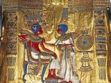 Tutankhamen a Ankhesenamen, Relief, C20 BC Lámina fotográfica