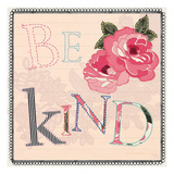 Be Kind Poster by Violet Leclaire