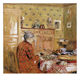Breakfast, circa 1899 Art by Edouard Vuillard