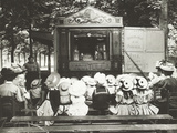 Punch and Judy, France, C.1900 Photographic Print