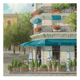 French Blue Café 2 Prints by Jill Schultz McGannon