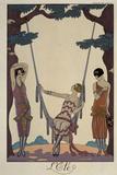 L'Eté (The Summer) Reproduction procédé giclée par Georges Barbier
