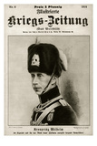 Wilhelm, German Crown Prince, in Uniform Giclee Print