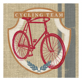 Cycling Team Giclee Print by Sam Appleman