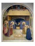 Birth of Christ, with the Saints Catherine of Alexandria and Peter the Martyr, 1437-45 Giclee Print by  Fra Angelico