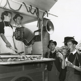 Snack Stall Photographic Print