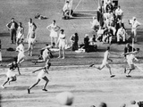 Running in the 1932 Olympics in Los Angeles Photographie