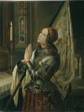 Jeanne d'Arc (Joan of Arc) Giclée-tryk af N.M. Dyudin