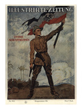 Propaganda, German Protection Force During World War I Posters