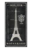Bienvenue Paris! Print by Chad Barrett