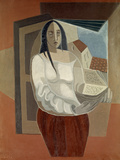 La Femme au Livre (Woman with Book), 1926 Giclee Print by Juan Gris