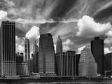 Manhattan Skyline, New York, USA, 2005 Photographic Print