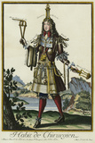 Habit de Chirurgien (A Fantasy Costume of a Surgeon with Various Attributes of His Profession) Giclee Print