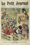 Guignol/De Chaque Côté de la Gravure, les Deux Célèbres Marionnettes Lyonna Print